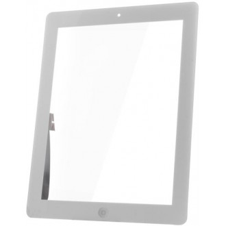 Touch Panel for iPad3 full front set white