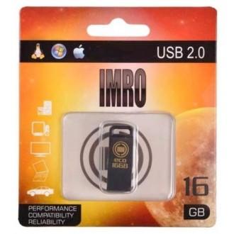 Pendrive IMRO BLACK 16 GB black