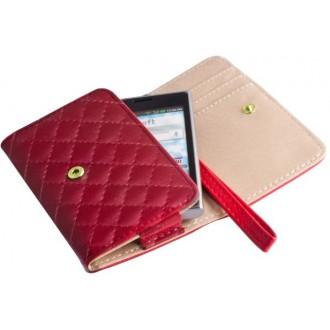 Case Wallet Pik XXXL Note 2 red