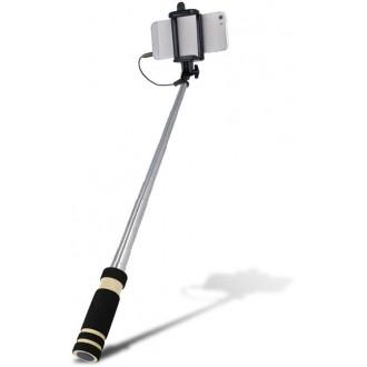 Audio jack selfie stick SETTY black