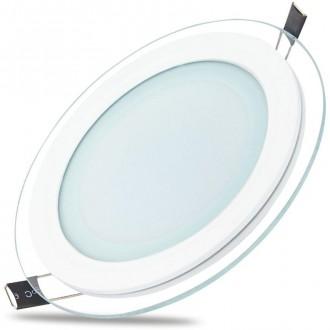 Slim Glass luminaire round (18 W   3000 K)