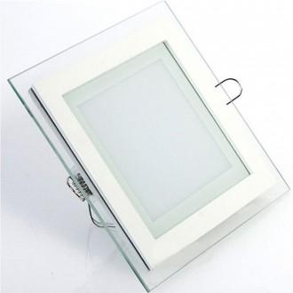 Slim Glass luminaire square (18 W   3000 K)