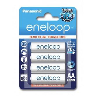 Panasonic Eneloop R6/AA 1900mAh rechargeable – 4 pcs blister