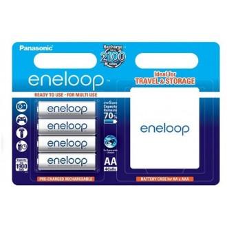 Panasonic Eneloop R6/AA 1900mAh rechargeable – 4  pcs blister + box