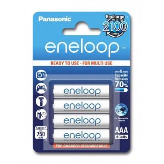 Panasonic Eneloop R03/AAA 750mAh rechargeable – 4 pcs blister
