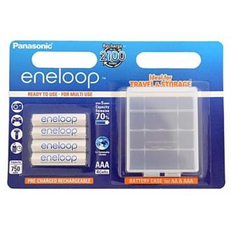 Panasonic Eneloop R03/AAA 750mAh rechargeable – 4 pcs blister + box