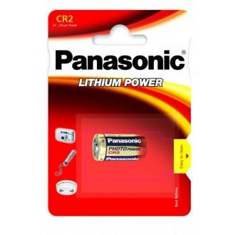 Panasonic lithium battery CR2A - 1 pcs blister
