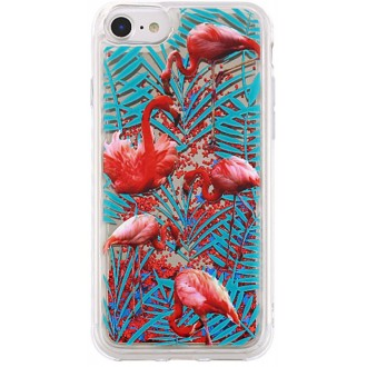 Liquid Mirror TPU Flower1 case for Samsung S7 G930