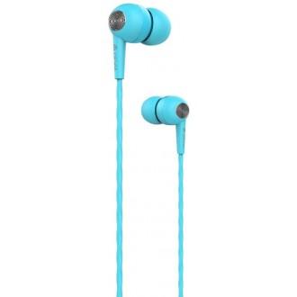 Devia wired earphones Kintone blue