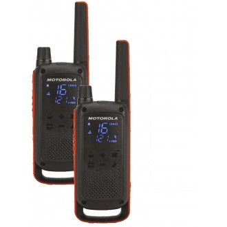 Motorola Talkabout T82 twin-pack + charger
