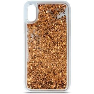 Liquid Sparkle TPU case for iPhone 6 / iPhone 6s gold