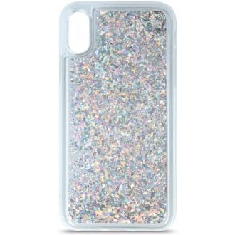 Liquid Sparkle TPU case for iPhone 7 / 8 / SE 2020 silver