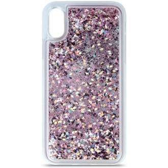 Liquid Sparkle TPU case for Huawei P Smart 2019 / Honor 10 Lite purple