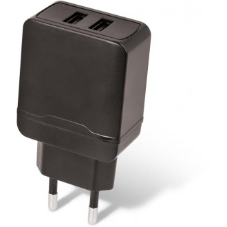 Maxlife wall charger MXTC-02 2xUSB Fast Charge 2.4A black