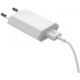 Devia wall charger Smart 1USB plus cable micro white 1A