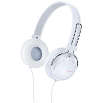 XO Wired headphones S32 jack 3,5mm white