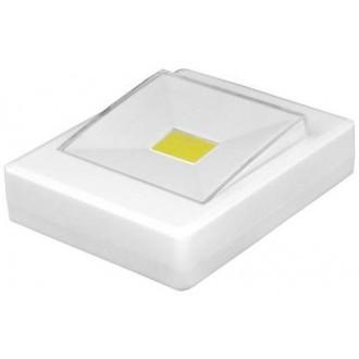 Wall lamp LTC switch LED COB 1W bat.3xAAA + magnet / sticker