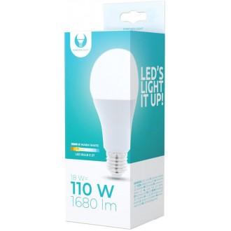 LED Bulb E27 A65 18W 230V 3000K 1680lm Forever Light