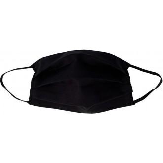 Reusable face mask 100% cotton - non-medical item black