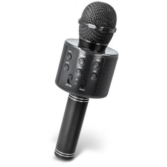 Maxlife MX-300 microphone with bluetooth speaker black