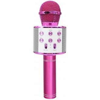 Maxlife MX-300 microphone with bluetooth speaker pink