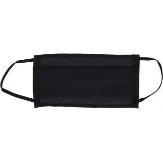 Reusable Single layer face mask 100% cotton - non-medical item black