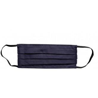 Reusable face mask 100% cotton - non-medical item navy blue