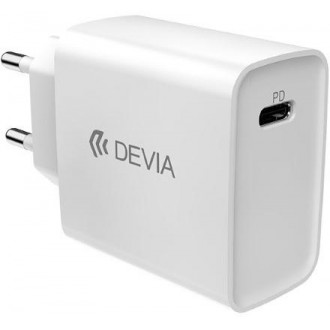Devia wall charger Smart PD USB-C 1USB white 20W
